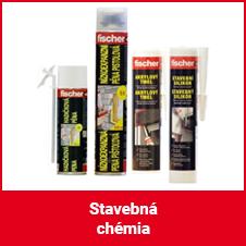Stavebná chémia (peny, tmely)